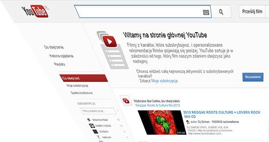youtube muzyka