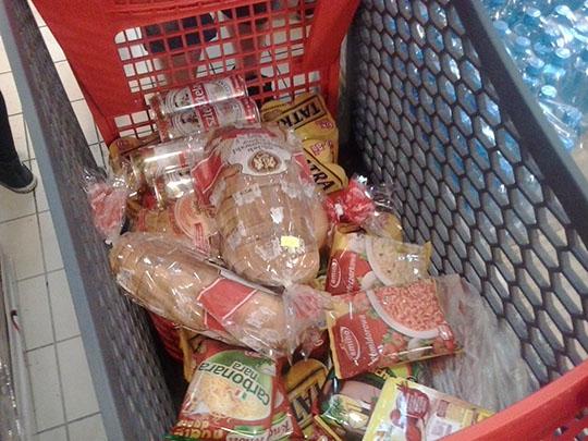 Małe zakupy w oooooooo Inter Marche