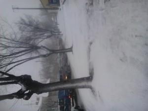 Zima atakująca Tomaszów Mazowiecki w 8 Marca 2013