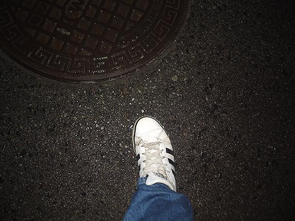 Tak, mam brudne buty Adidasa, one były chyba reklamowane przez Biebera. No kurwa...
