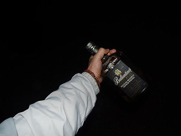 Pochwalę się whisky, żeby nie było, że o suchym pysku chodzę.