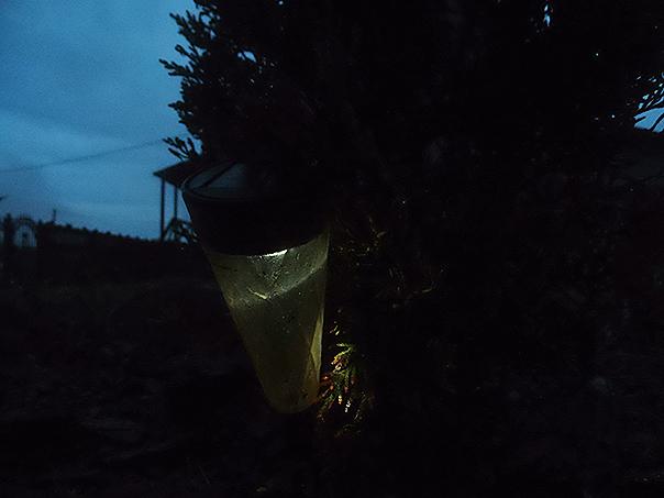 Już po powrocie uznałem, że ta lampka będzie dobra. Miałem rację, jak zwykle.